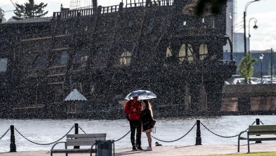 Синоптики прогнозируют дождливую неделю в Петербурге