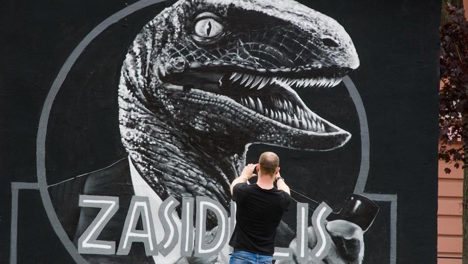 Смольный предложил заменить настоящие граффити оцифрованными
