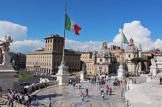 В Италии за сутки выявили 2844 новых случая заражения COVID-19