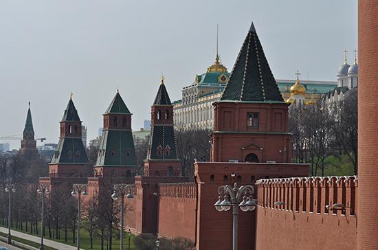 В Кремле изучат заявление Зеленского о создании военно-морских баз