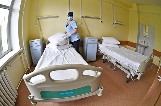 В Ленобласти развернули дополнительные койки для пациентов с COVID-19