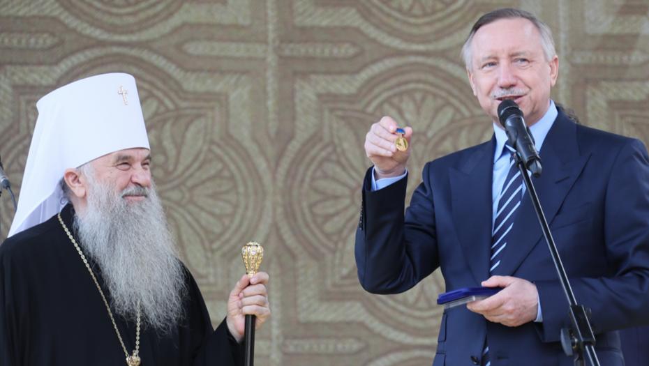 В Петербурге 800-летие Александра Невского отметят световым шоу