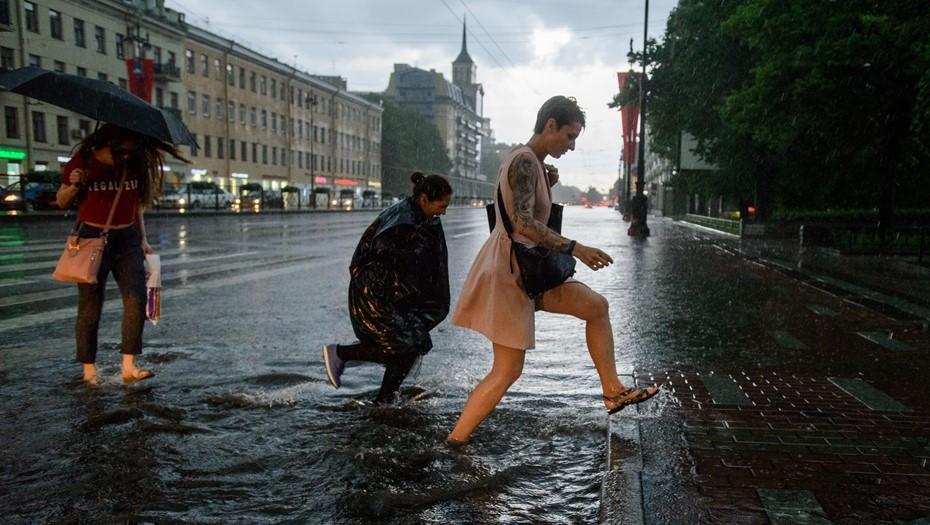 В Петербурге треть месячной нормы осадков выпадет 4 октября