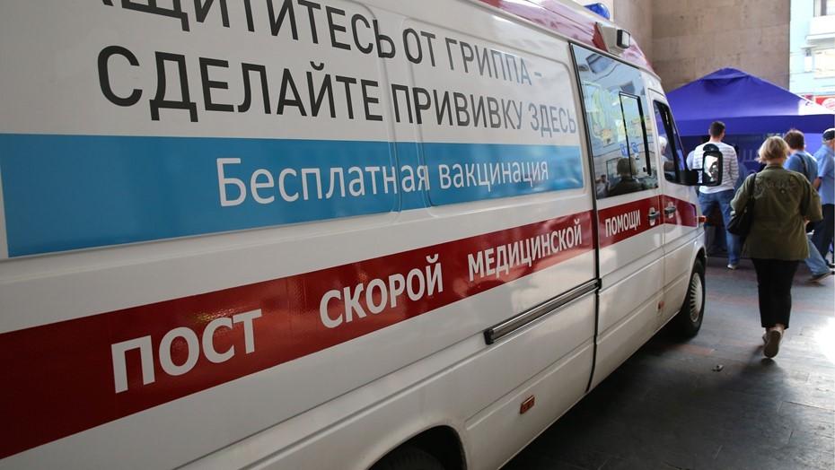В Петербурге за месяц привили от гриппа свыше 1 млн горожан