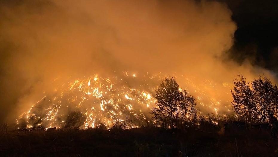 Второй за месяц пожар на мусорном заводе МПБО-2 привлёк внимание инспекторов