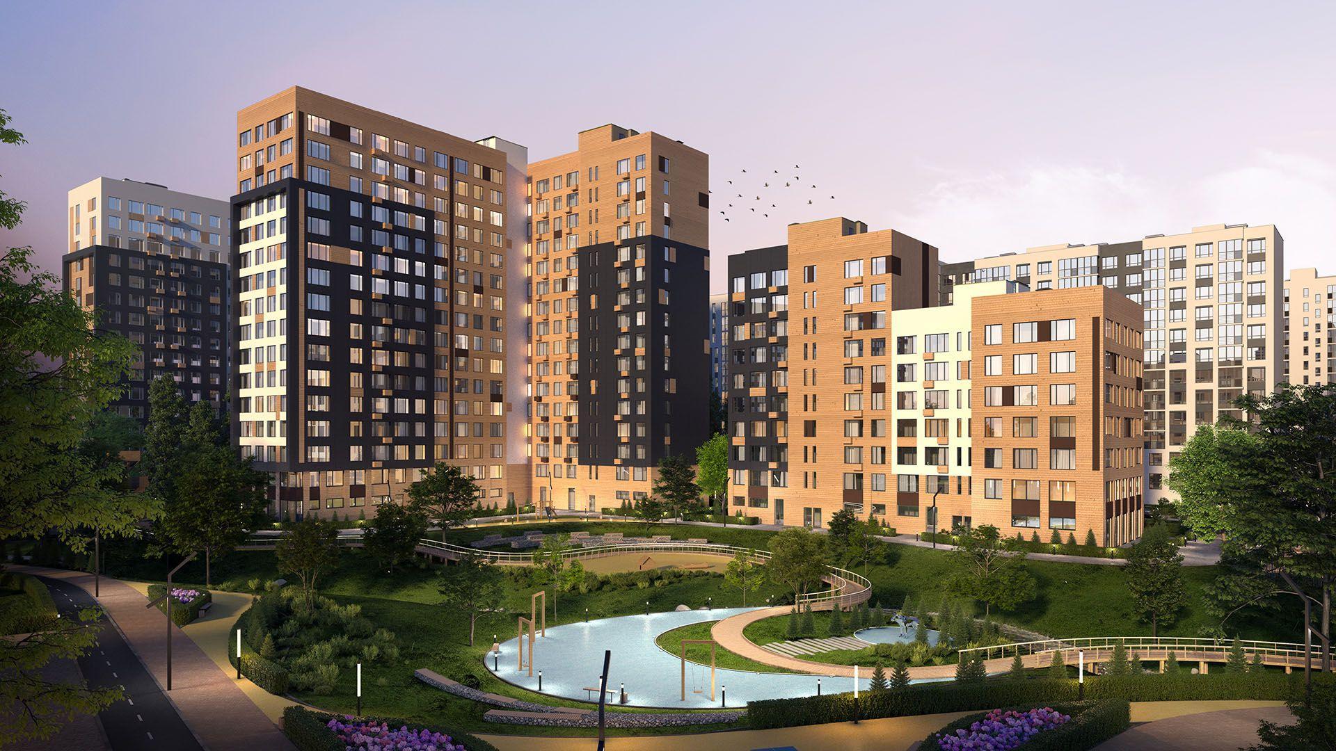 Анастасия Пятова: ГК «А101» получила разрешение на ввод 920 квартир в ЖК «Скандинавия»