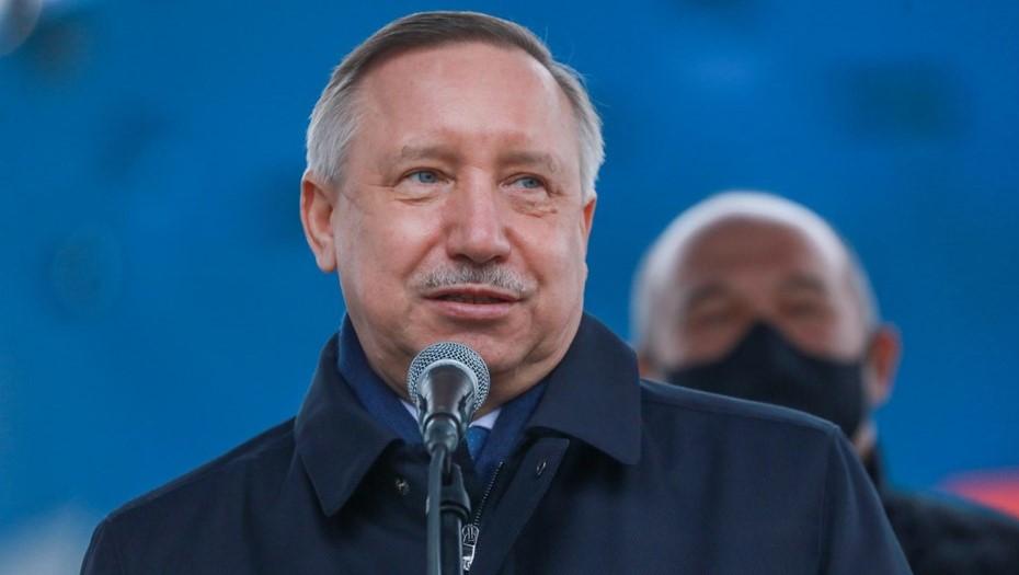 Беглов подписал закон о бюджете Петербурга