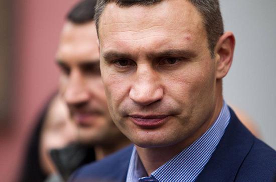 Кличко вновь победил на выборах мэра Киева