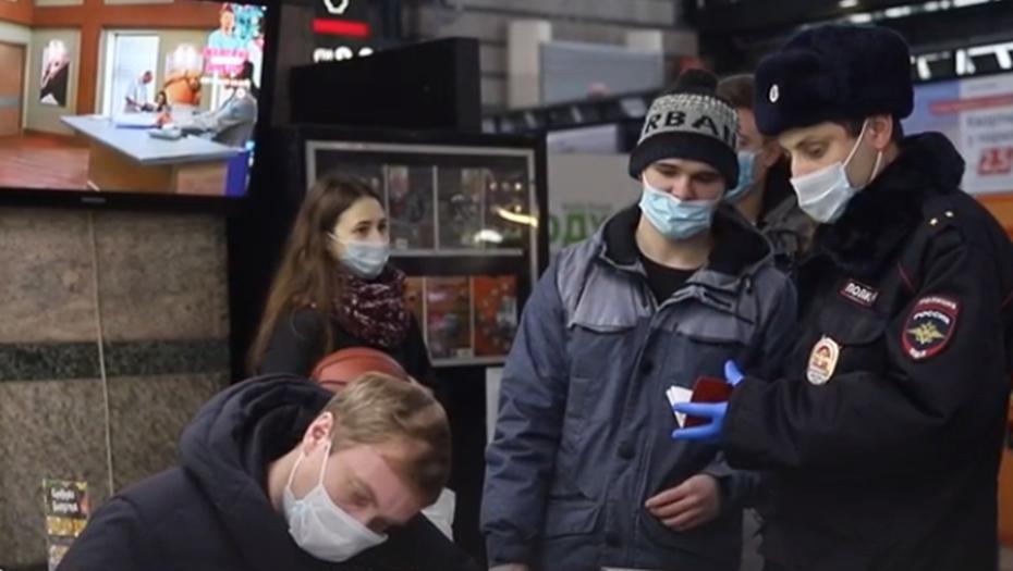 Масочные рейды прошли на двух вокзалах Петербурга