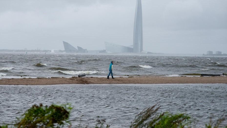 МЧС предупреждает петербуржцев о сильном ветре в понедельник
