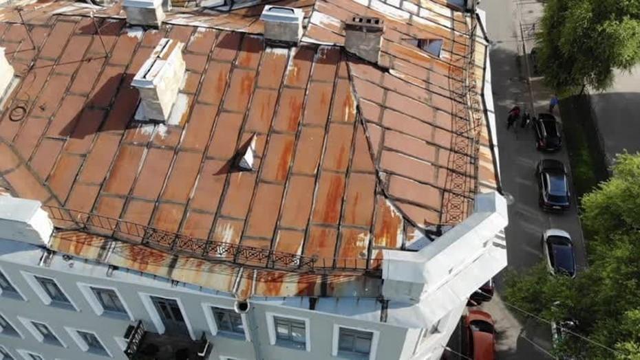 Нежилые здания Петербурга проверили с помощью квадрокоптера