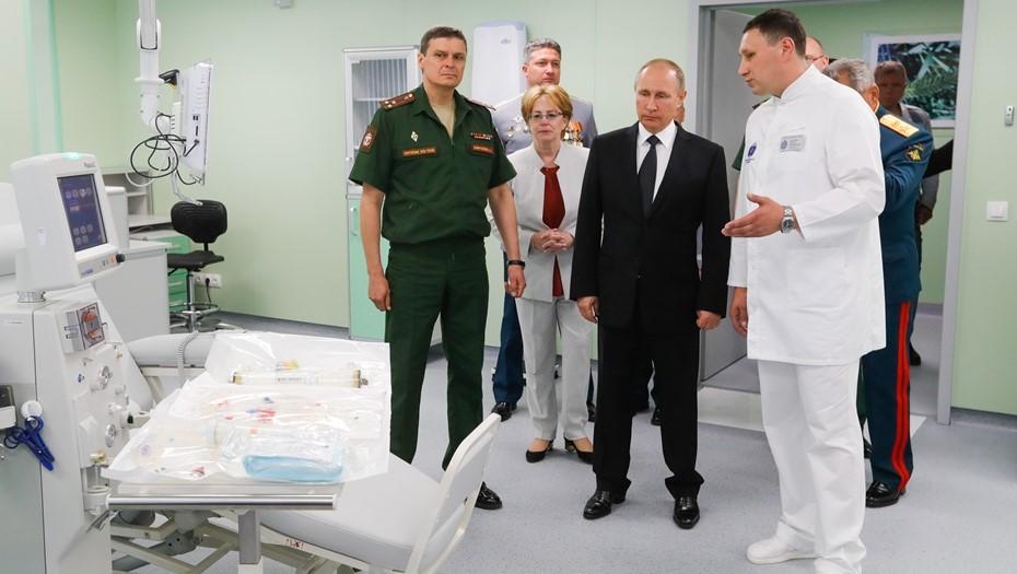 Новым главврачом Мариинской больницы стал полковник Анатолий Завражнов