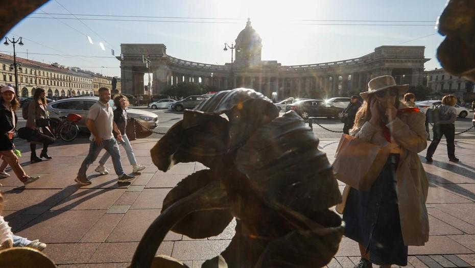 Октябрь в Петербурге оказался самым тёплым за 100 лет