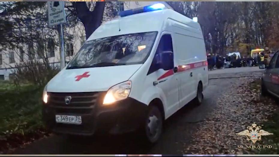 От наезда автомобиля на слушаниях под Калининградом пострадали 8 человек