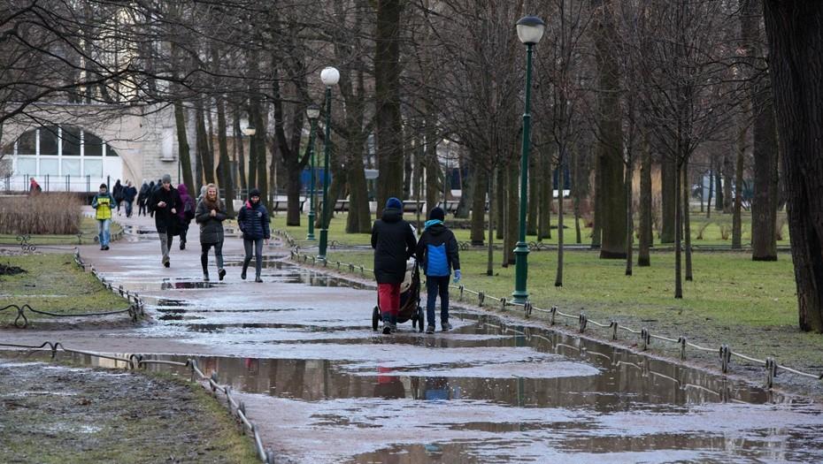 Парки и скверы Петербурга открыли после шторма