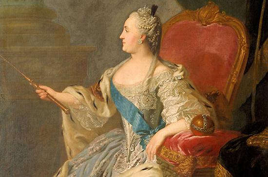 Первую в России прививку от оспы сделала Екатерина II