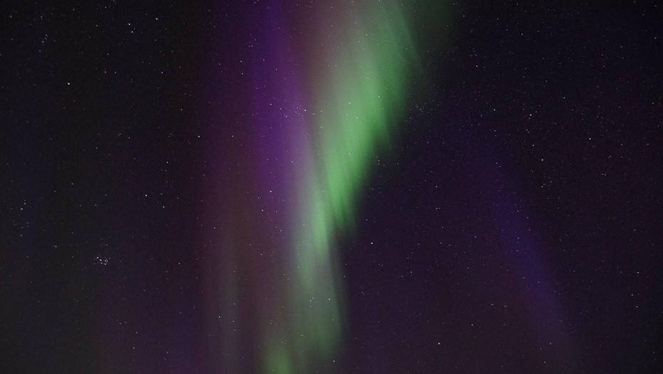 Петербуржцы смогут наблюдать северное сияние