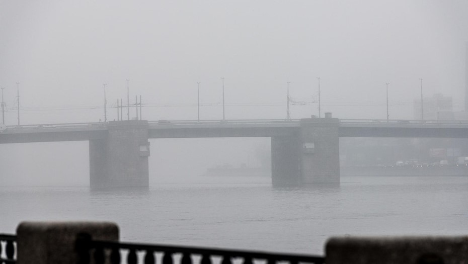 Пятница в Петербурге будет туманной и без осадков