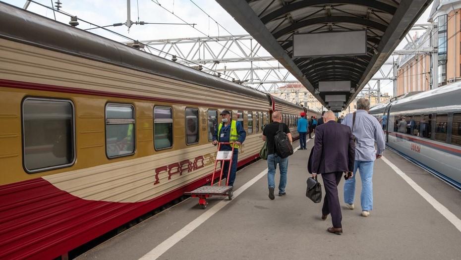 Путь между Москвой и Петербургом на поезде будет занимать два часа