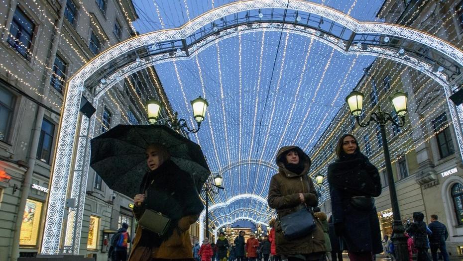 Рождественская ярмарка на два месяца ограничит движение в центре Петербурга