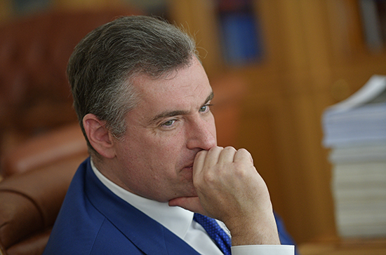 Слуцкий назвал реакцию Берлина на санкции России политическим лицемерием