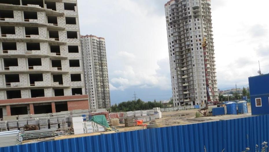 Смольный обозначил сроки достройки жилых комплексов на Заречной улице