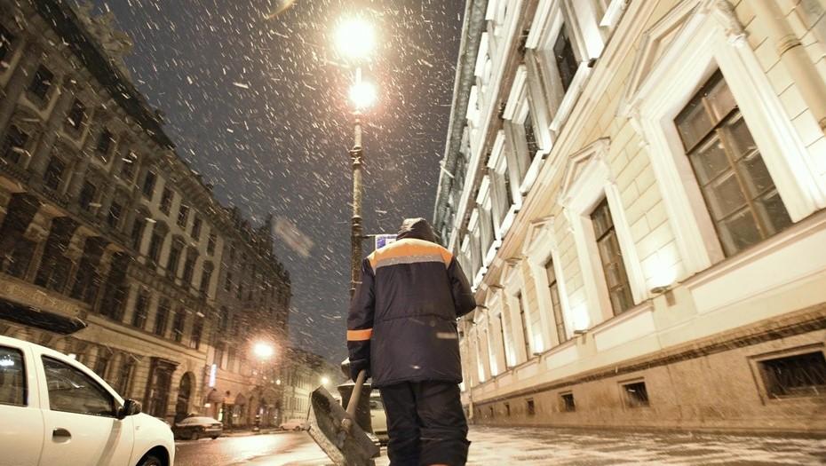 Спасатели предупредили о новой метели в Петербурге
