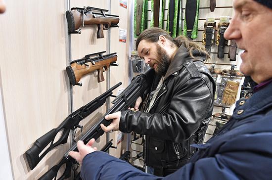 Срок действия разрешений на хранение оружия в России хотят продлить