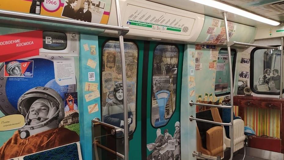 Тематический состав запустят в метро Петербурга в день 65-летия