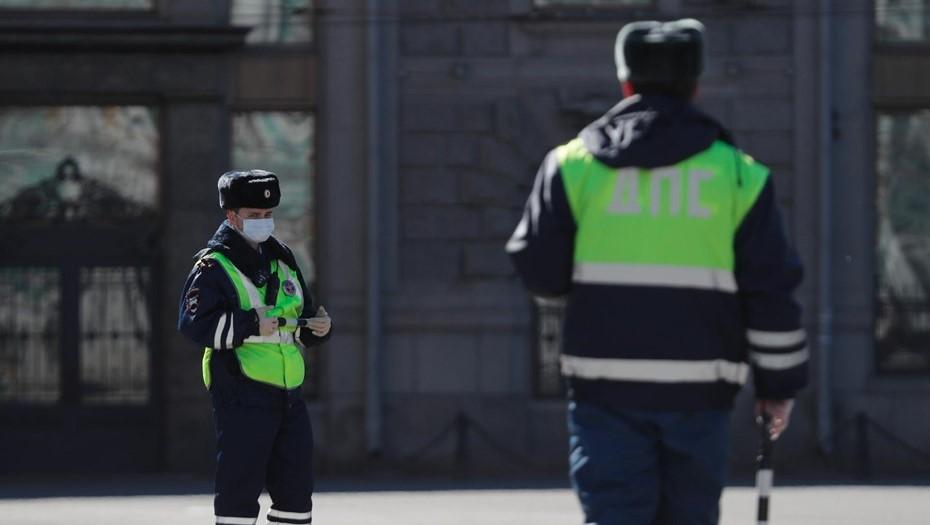 В центре Петербурга задержали дрифтера на Lexus без документов