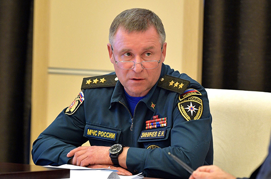 В Нагорный Карабах вылетела оперативная группа МЧС России