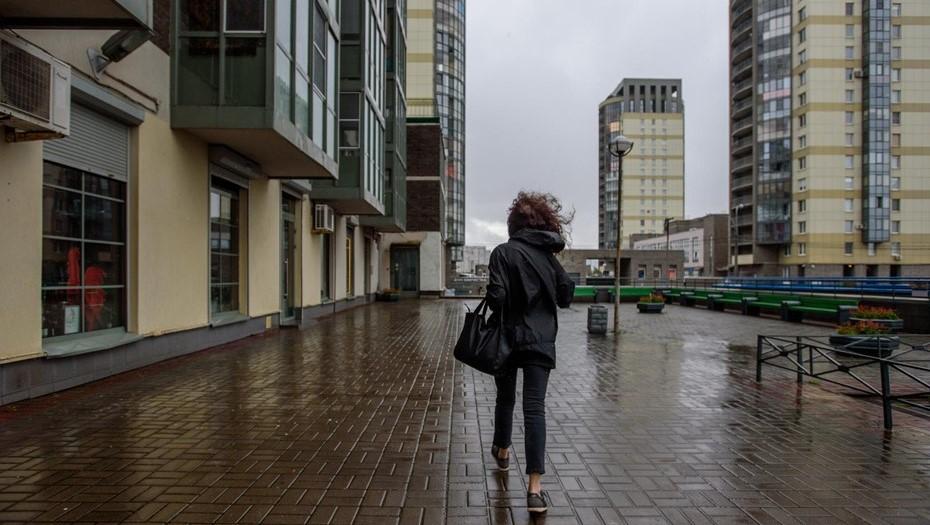 В Петербурге ожидаются ураганный ветер и дожди