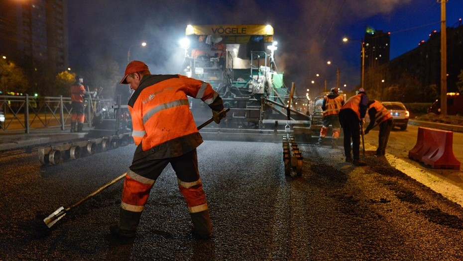 В Петербурге завершили сезон дорожного ремонта