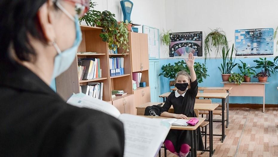 Власти объяснили, почему не переводят школы Петербурга на удалёнку