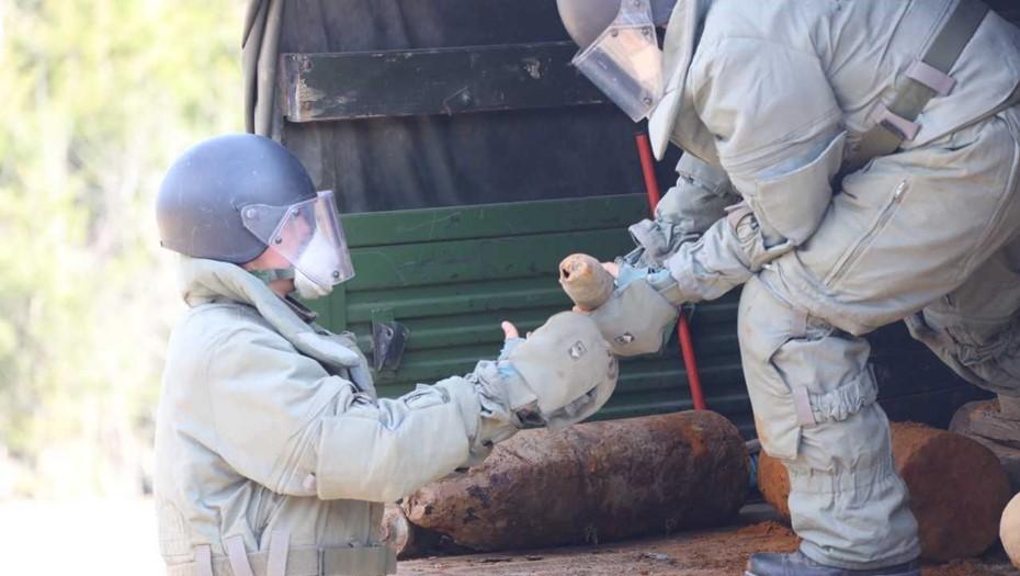 Военные вывезли из Петербурга и Ленобласти более 300 боеприпасов времён войны