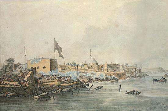 230 лет назад русские войска взяли турецкую крепость Измаил
