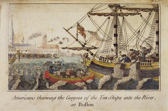 247 лет назад произошло «Бостонское чаепитие»