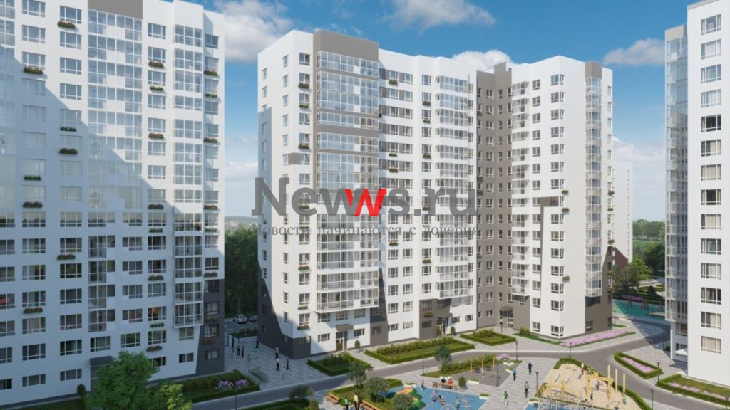 В строящемся доме ЖК «Белые ночи» на 984 квартиры разрешено открыть продажи