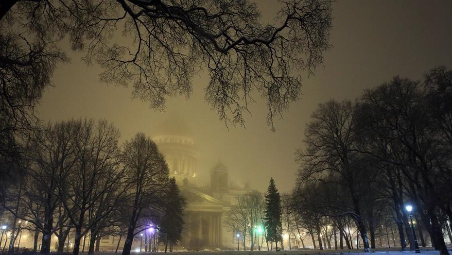 Дождь и туман ждут в Петербурге в воскресенье