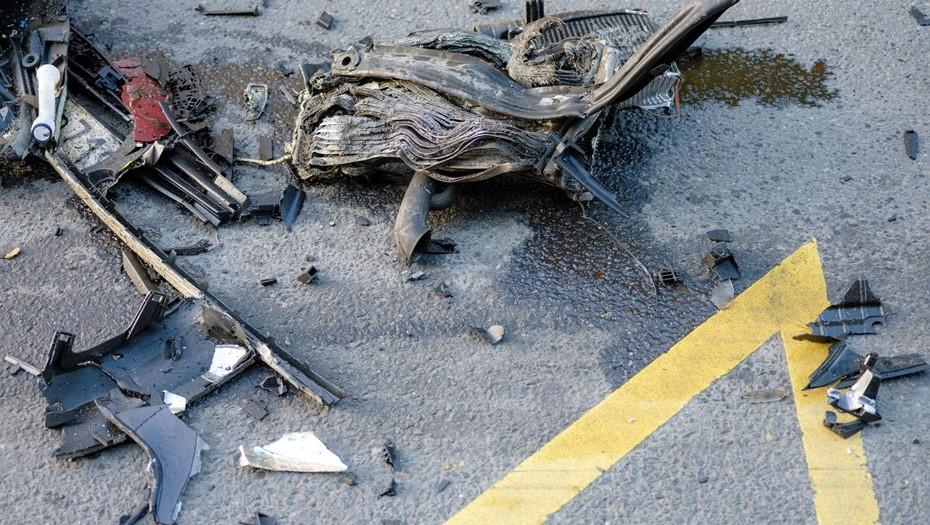 Два человека получили травмы в аварии с автобусом под Петербургом