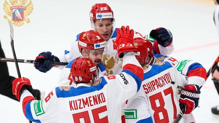 Гол игрока СКА помог сборной России одержать вторую победу в Еврохоккейтуре