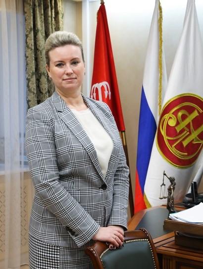 Мария Терехова, президент Нотариальной палаты Санкт-Петербурга