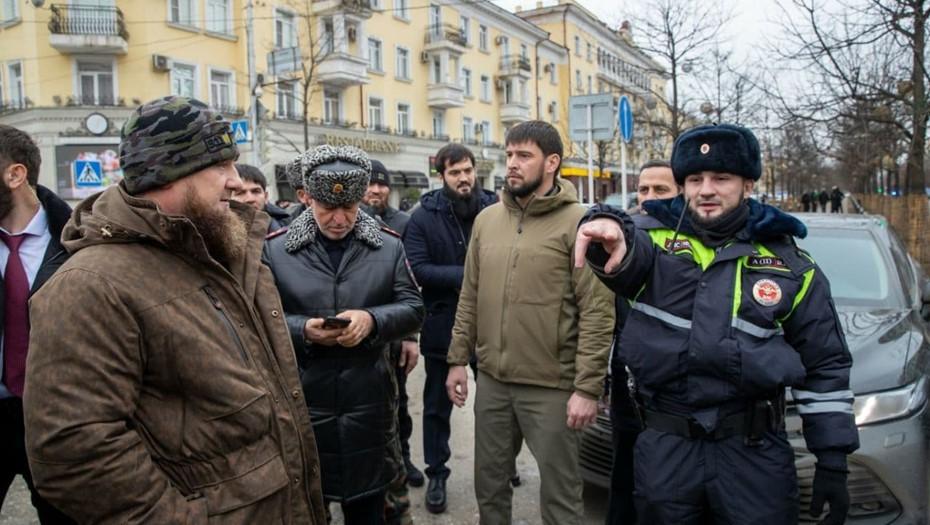 Один полицейский погиб в результате нападения в центре Грозного