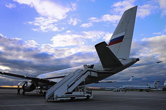 Оперштаб: вопрос по авиасообщению с Великобританией находится на контроле