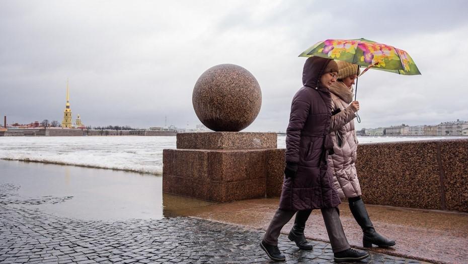 Петербург ждёт аномальная погода в новогоднюю ночь
