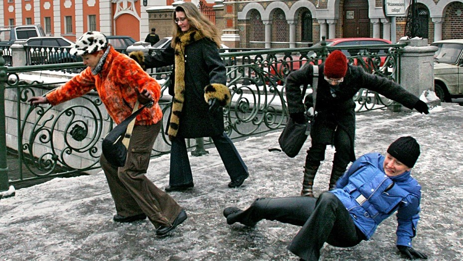 Петербуржцев предупредили о гололедице в воскресенье