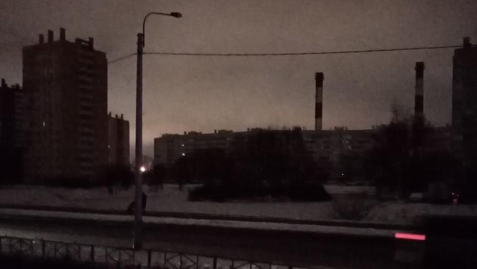Полный блэкаут: в Красносельском районе отключилась электроэнергия