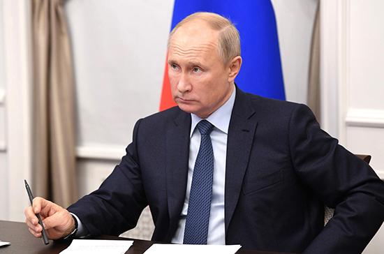 Путин: в России удалось не допустить критического спада экономики