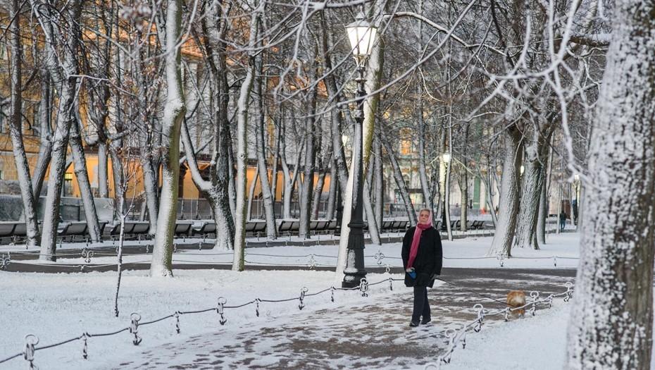 Синоптик предупредил о похолодании в Петербурге накануне Нового года