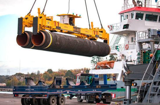 Строительство «Северного потока — 2» возобновили